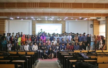 """যশোর বিজ্ঞান ও প্রযুক্তি বিশ্ববিদ্যালয়ে অনুষ্ঠিত হয়ে গেল """"ক্যারিয়ার পাথওয়ে ফর টুমোরো"""""""