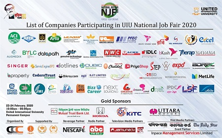 UIU National Job Fair-23rd – 24th February 2020
