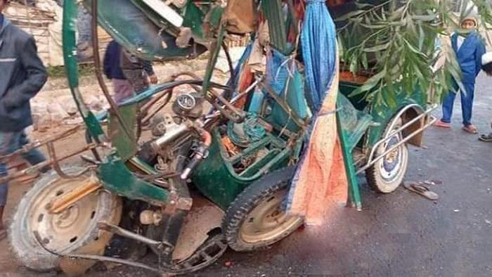 উখিয়া উপজেলায় বাসচাপায় অটোরিকশার দুই যাত্রী নিহত