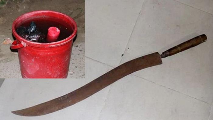 গাইবান্ধায় শহীদ মিনার চত্বর থেকে তিনটি তাজা ককটেল ও ছুরিসহ দুজনকে আটক