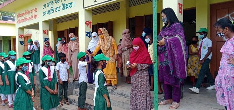 খুলেছে পূর্বাচলের ১৬ নং পশী-হারার বাড়ী সরকারি প্রাথমিক স্কুল